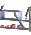 抗震支吊架加强施工装置